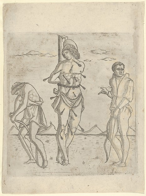 Martyrdom of St. Sebastian with Two Archers