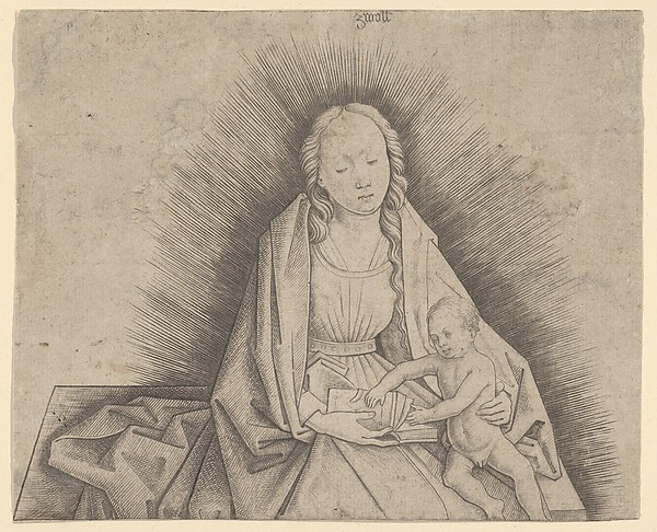 Virgin and Child (upper portion)