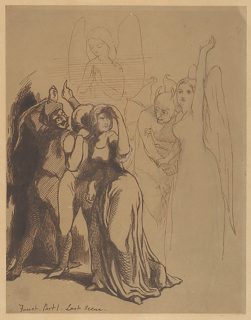 Faust: Part 1. Last Scene