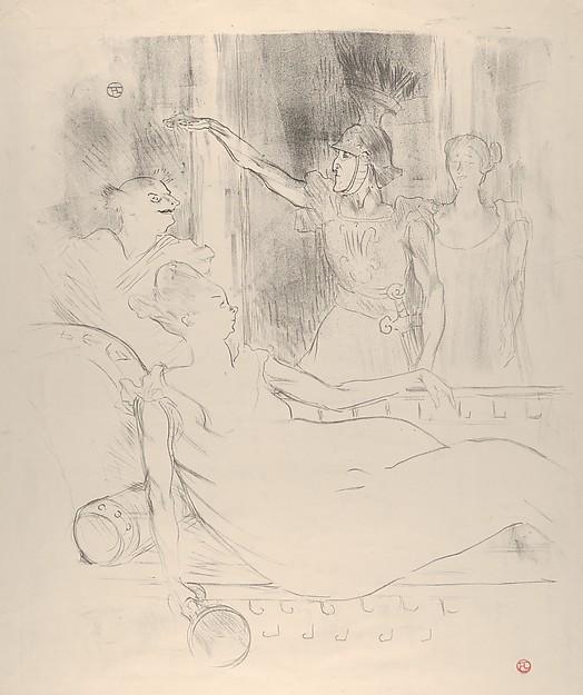 A Scene from Offenbach's La Belle Hélène