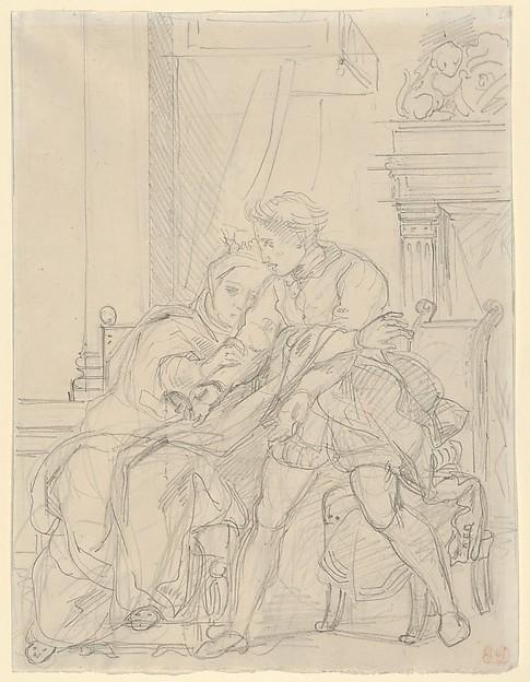 Hamlet Reproaches His Mother