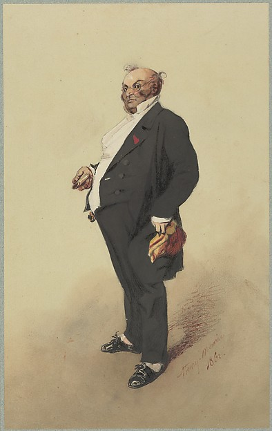 Self-Portrait as Monsieur Prudhomme