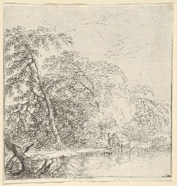 Landscape with a Herdsmen