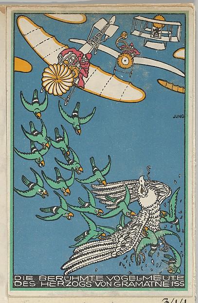 The Duke of Gramatneiss's Famous Pack of Birds (Die Berühmte Vogelmeute des Herzogs von Gramatneiss)