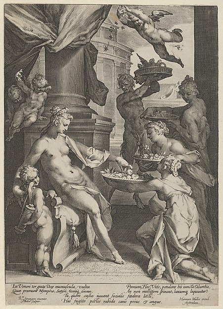 Venus Honored by the Nymphs