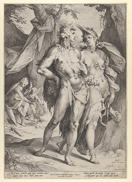 Bacchus, Ceres, and Venus