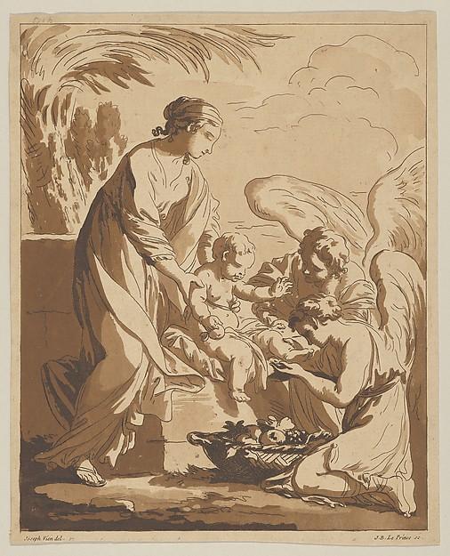 Adoration of the Angels (L'Adoration des anges)