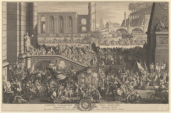 The Entry of Alexander into Babylon