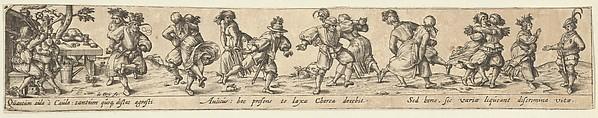 Peasant Couples Dancing