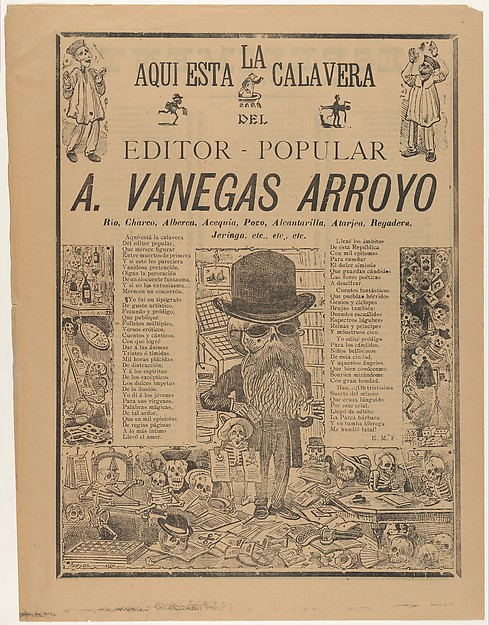 The skeleton of the people's editor (Antonio Vanegas Arroyo)