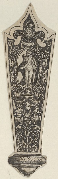 Copy of a Design for a Knife Handle with the Death of Lucretia