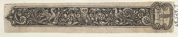 Reverse Copy of a Design for a Buckle with an Owl
