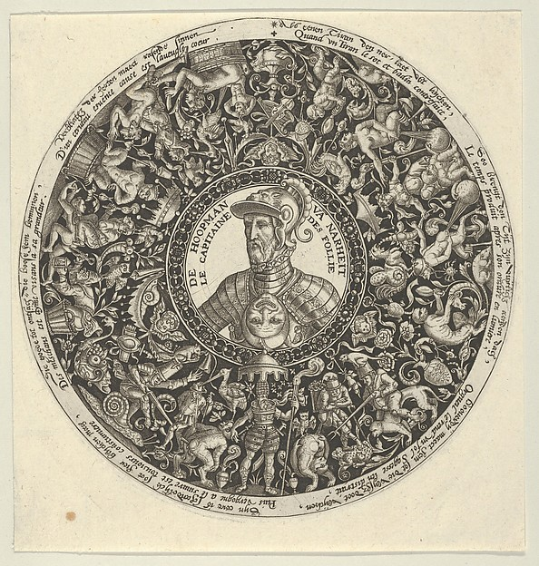 Portrait of the Duke of Alva, from a Series of Tazza Designs