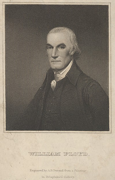 Fascinating Historical Picture of Asher Brown Durand with William Floyd in 1837