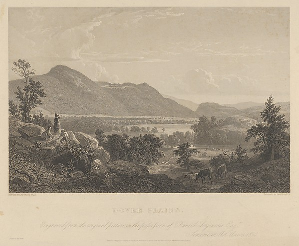 Dover Plains, from Gallery of American Art, No. 1