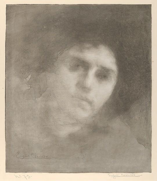 Mme Eugène Carrière (Tête / Head)