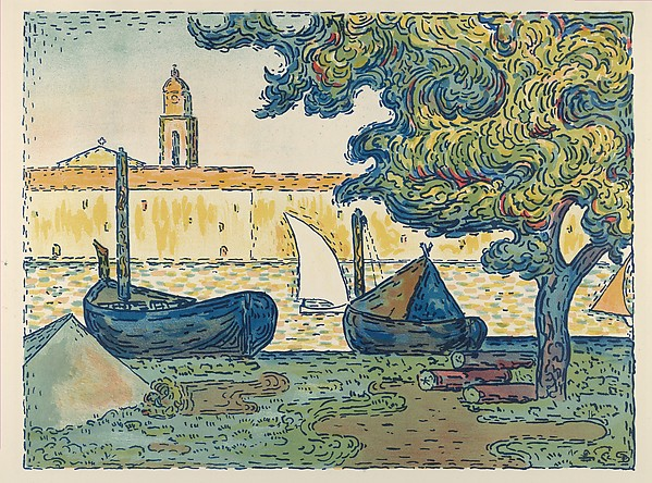 Saint-Tropez (from L'Estampe originale, Album VII)