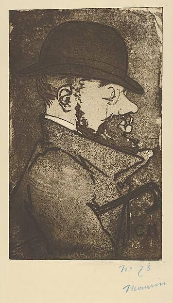 Portrait of Toulouse-Lautrec (Portrait de Toulouse-Lautrec)