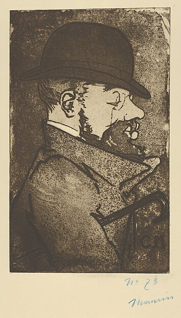 Portrait of Toulouse-Lautrec (from L'Estampe Originale, Album I)