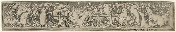 Hares Roasting the Hunter