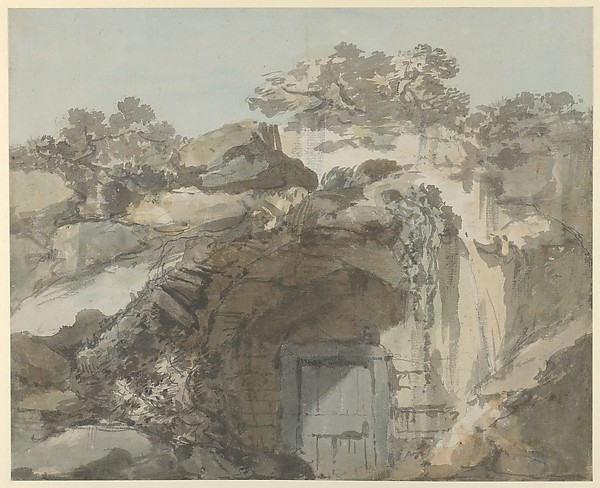 The Door of a Grotto