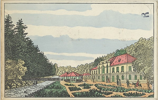 Old Karlsbad: The Hall of Fellowship (Alt-Karlsbad. Der Freundschafts-Saal)