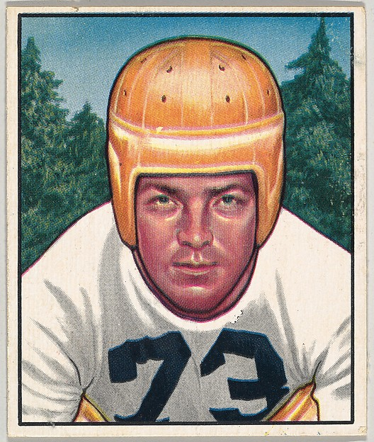 Card Number 89, Darrell Hogan, Guard, Pittsburg Steelers, from the Bowman Football series (R407-2) issued by Bowman Gum