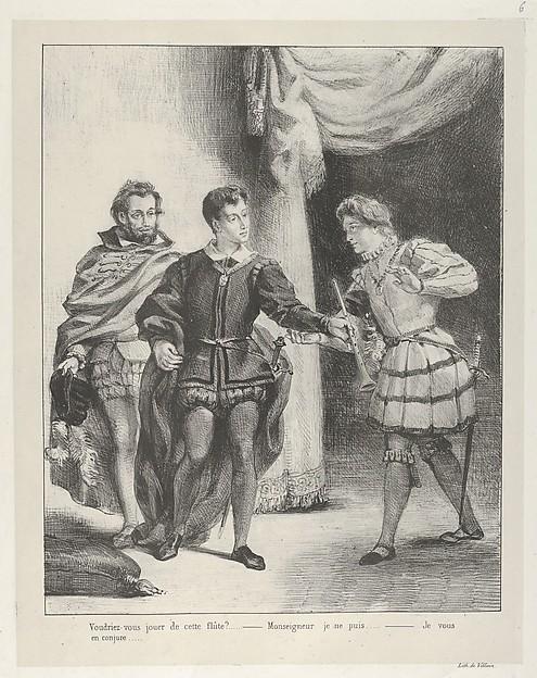 Hamlet and Guildenstern