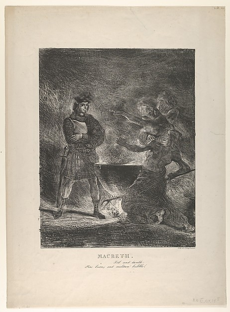 Macbeth Consulting the Witches