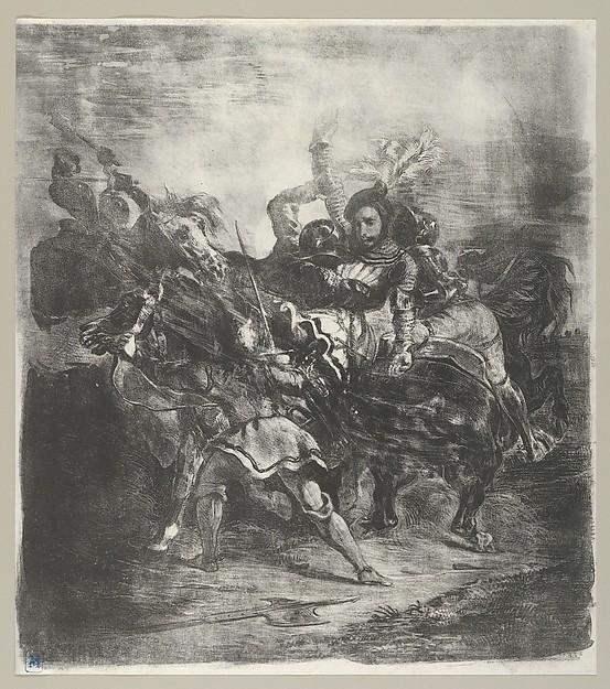 Weislingen attacked by Goetz's Men (Act 1, Scene 3)