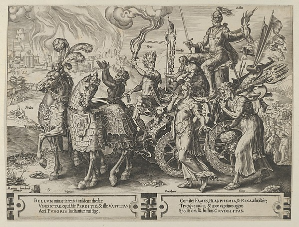 The Triumph of War, from The Cycle of the Vicissitudes of Human Affairs, plate 5
