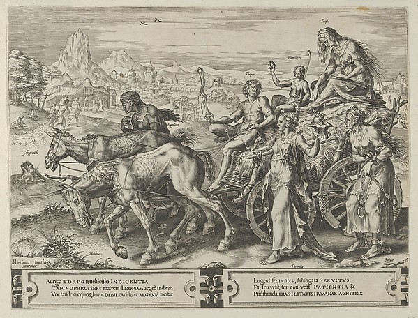 The Triumph of Want, from The Cycle of the Vicissitudes of Human Affairs, plate 6