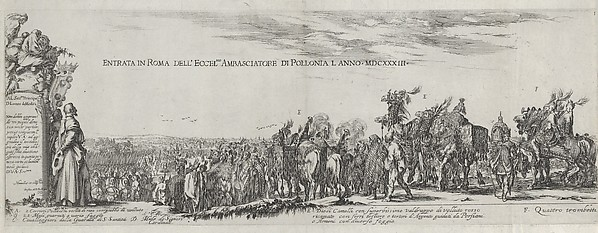 Entry of the Polish Ambassador into Rome