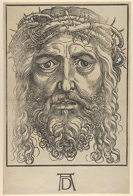 The Head of Christ Crowned with Thorns
