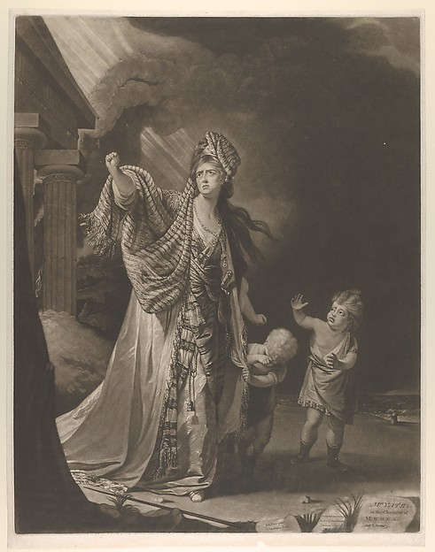 Mrs. Yates in the Characer of Medea