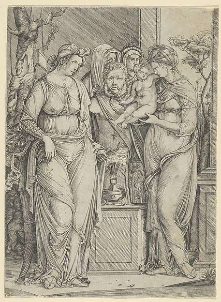 The sacrifice to Priapus (the larger version)