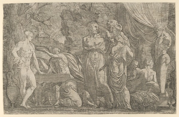 Hercules Being Dressed as a Woman