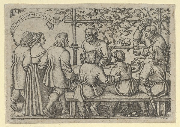 Peasants' Feast from The Peasants' Feast or the Twelve Months
