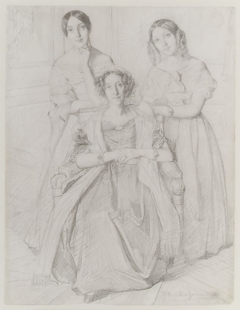The Baroness Duperré and Her Daughters