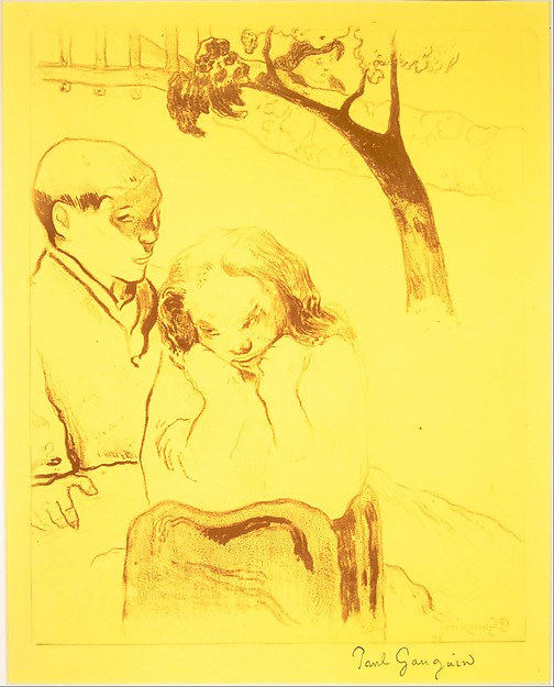 Human Misery, from the Volpini Suite: Dessins lithographiques