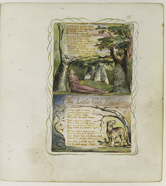 Songs of Innocence and of Experience: The Little Girl Lost/The Little Girl Found