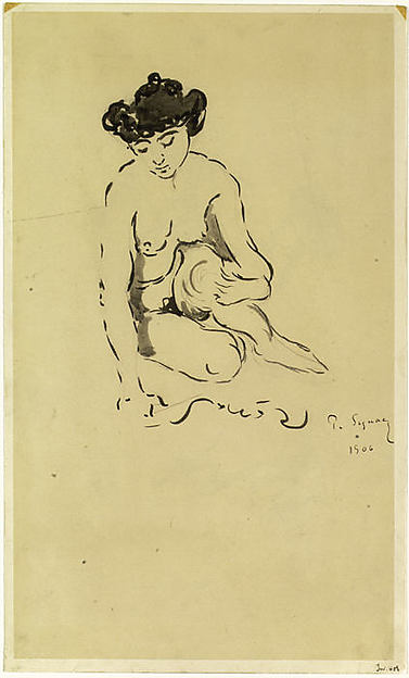 Seated Nude Woman