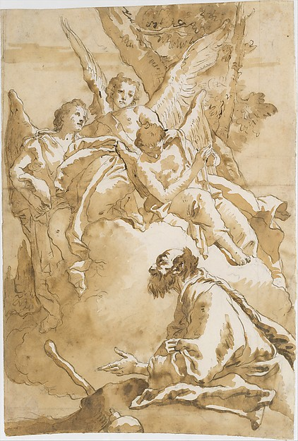 The Three Angels Appearing to Abraham by the Oaks of Mamre