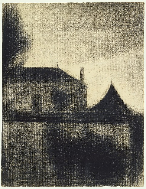 House at Dusk (La Cité)