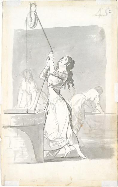 Three Washerwomen; Madrid Album (B), page 45