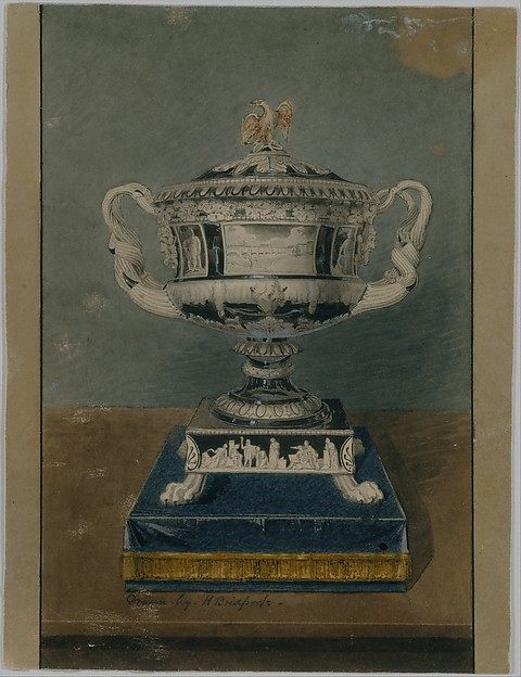 Drawing of Clinton Vase