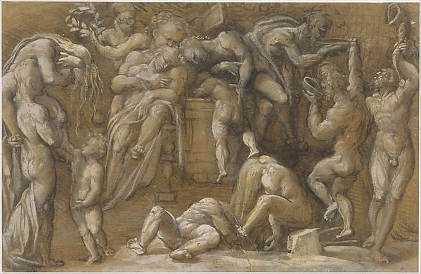 Bacchanalian Scene