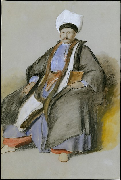 Portrait of Abram Incab Messir