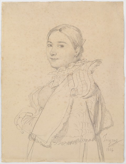 Madame Jean-Auguste-Dominique Ingres, née Madeleine Chapelle