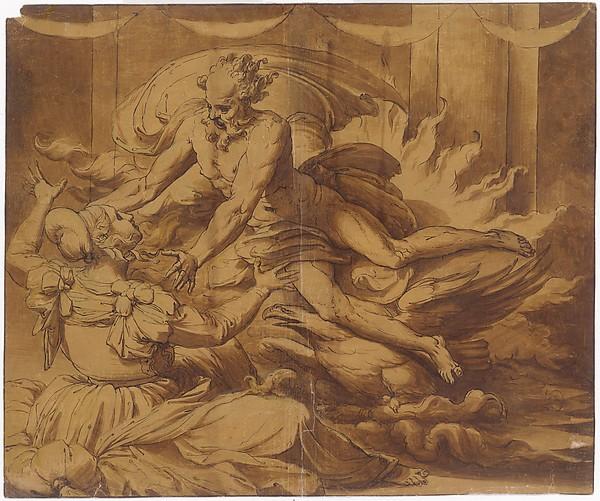Jupiter Appearing to Semele